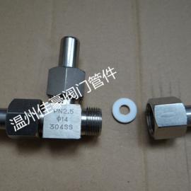精心打造四氟压垫式密封的对焊接式T型三通中间管活接头
