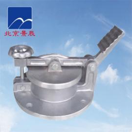 GLY-150型铝合金脚踏式测量孔 油罐专用脚踏式量油孔