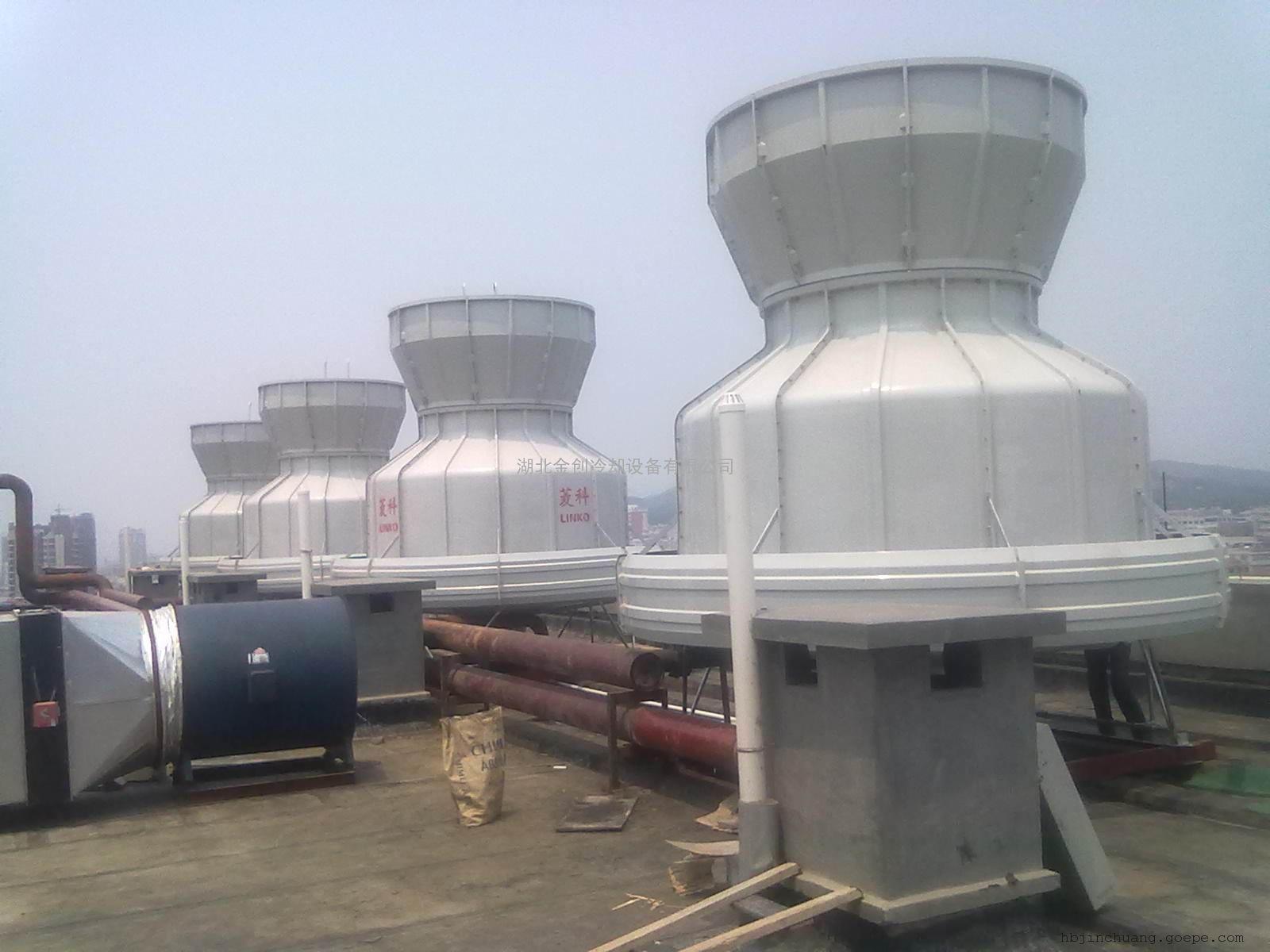 湿式冷却塔 ;通风方式:自然通风冷却塔