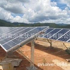 单立柱太阳能光伏支架