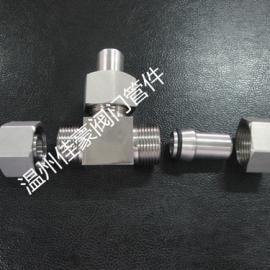 精品JB/T6383.3�F密封��焊接式三通中�g管活接�^