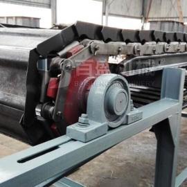 百盛链板式输送机|耐高温链板机|粮食输送机