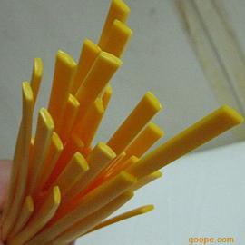 东莞全诚黄色扁平3*7mmPE焊条