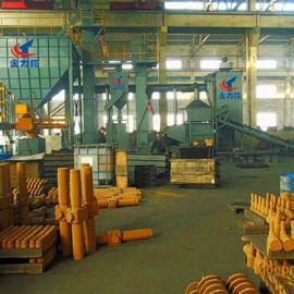 江苏树脂砂铸造生产线宜兴金力拓树脂砂铸造生产线整套设备装置