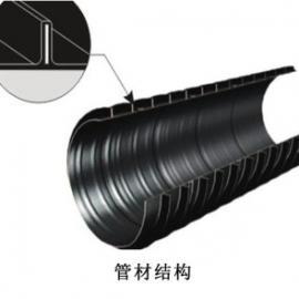 双平壁钢塑缠绕管