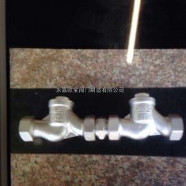 欧宝提供HS11W内螺纹不锈钢防污隔断阀