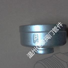 厂价批发不锈钢内螺纹直通变径连接头 304白化内丝直通管接