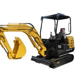 橡胶履带挖机,2.2吨微型挖掘机