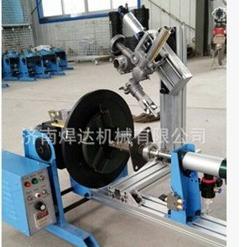 管法兰环缝自动焊接变位机转台 组合式100公斤大通孔变位机