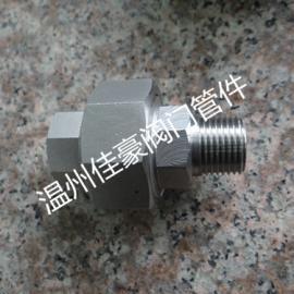 厂价直销304不锈钢内外螺纹活接头 锻钢高压活接头由任