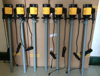 电动塑料油桶泵,耐腐蚀桶泵