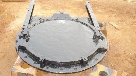 铸铁圆闸门DN600mm