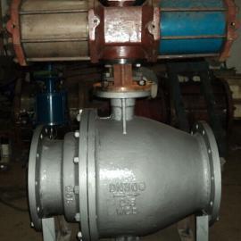 气动卸灰球阀生产厂家-Q647MF