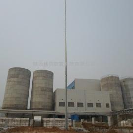 陕西伟信防雷-塔吊避雷塔、圆钢避雷塔伟信 GH环形钢管塔