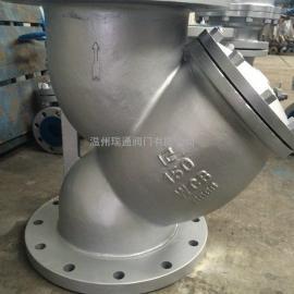 美标Y型碳钢过滤器
