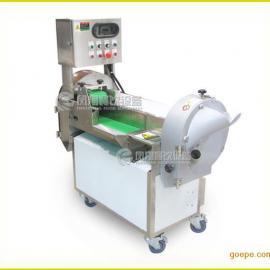 重庆双头切菜机,多功能切菜机,学校食堂专用切菜机