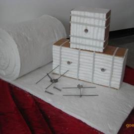 退火炉专用硅酸铝纤维棉模块,保温隔热毯
