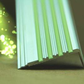 夜光防滑条发光楼梯条标识夜光消防地贴