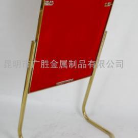 云南昆明不锈钢告示牌定做厂家