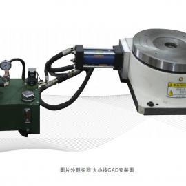 超高性价比 深圳惠士顿HSD-200HT油压旋转分度盘