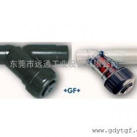 供应+GF+过滤器 PVC-U Y型过滤器