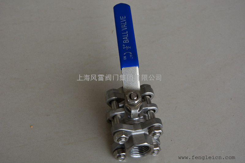 上海厂家直供  品质保证 不锈钢丝口球阀 Q11F内螺纹球阀