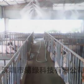 福州海南杭州高州泉州养殖场养猪鸡场降温消毒喷雾冷雾案例