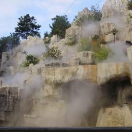 福州厦门龙岩泉州甫田市区园林花园假山水池人造冷雾景观造雾
