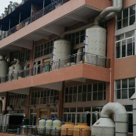 优洁大型废气处理设备|UJPP洗涤塔设备|除臭设备