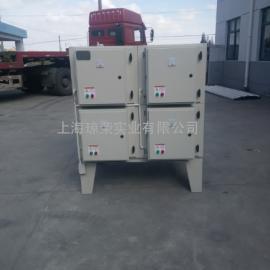 高压电场油污净化器设备蜂窝网高效率油雾净化器