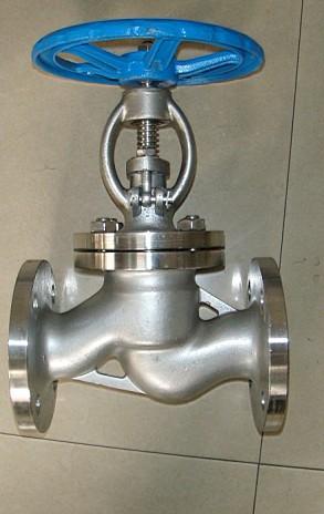 不锈钢法兰截止阀。J41W,高温高压不锈钢截止阀