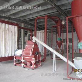 可靠质量木材棉杆麦秆粉碎生产线设备/制香厂造纸厂专用木粉机