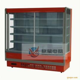 饭店点菜柜保鲜柜 自助餐冷藏保鲜展示柜 水果保鲜柜