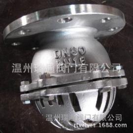 铸钢法兰底阀