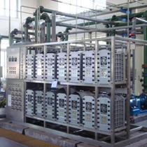 EDI纯化水设备&电渗析纯水机+混床超纯水机