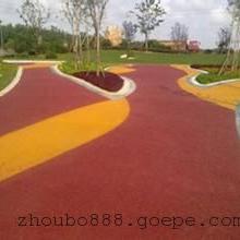 陶瓷颗粒防滑路面,彩色陶瓷颗粒防滑路面施工