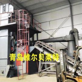 连续式滚筒抛丸机|铸造件打砂机|清砂机