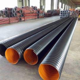济源埋地钢带排污管,500波纹管厂家