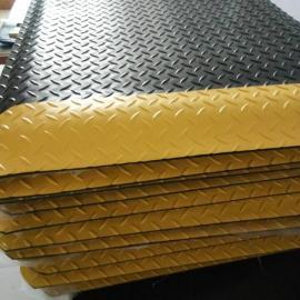 工业地垫130元每平方米+20MM厚加黄边抗疲劳地垫+静电