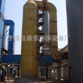 15t煤气锅炉烟气除尘脱硫塔