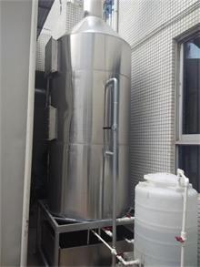 *环保技术承接云南发电机尾气净化塔、发电机尾气净化设备