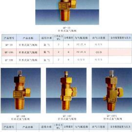 针形式氯气瓶阀QF-10F型针形式氯气瓶阀