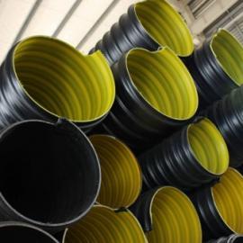 焦作300钢带聚乙烯排污管,300波纹管