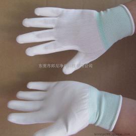 PU涂掌手套/东莞防滑手套/透气吸汗作业手套