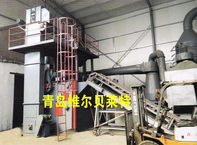大型铸造厂铸件清砂机|抛丸机|连续式抛丸机|一台顶十台效率