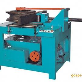 山西太原BY-WG-1角铁电动弯管机 弯角铁机器