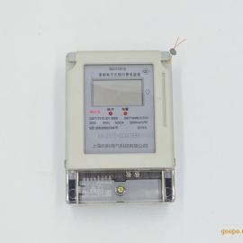 预付费插卡式电表 IC卡家用电表单相电子式电度表液晶智能电能表