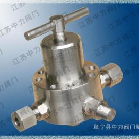 YT-1压力调节器(减压阀)