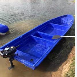 大量供应PE滚塑船,3.2米经济耐用养殖船批发,来图加工
