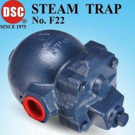 台湾DSC可锻铸铁浮球式蒸汽疏水阀F22,F22F,疏水阀